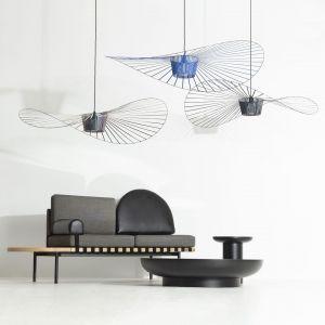Lampa Vertigo niczym piękny kapelusz. Cena: 3748 zł. Marka: Petite Friture, sklep 9design.pl