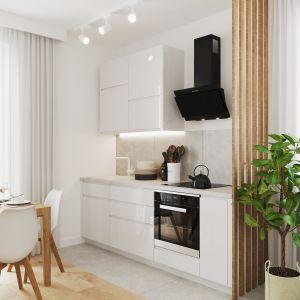 Meble modułowe do małej kuchni z kolekcji Qubik. Dostępne w Salonach Agata. Fot. Salony Agata