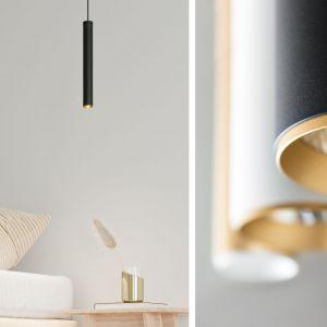Kierunkowe źródło światła estetycznie podświetli nocną szafkę, bez nadmiernego rozświetlenia przestrzeni wokół czyniąc z niej wieczorną dekorację wnętrza.  Fot. mat. prasowe AQForm