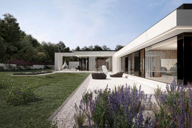 Biel, prostota, minimalizm i nowoczesność - najnowszy projekt Marcina Tomaszewskiego z pracowni Reform Architekt to dom zupełnie nietuzinkowy. Zobaczcie go!