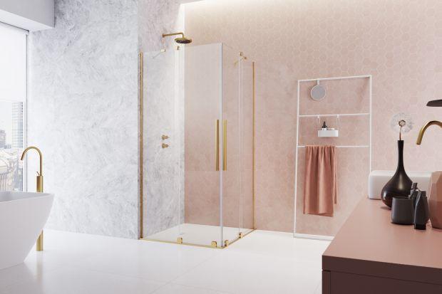 Piękne, przykuwające uwagę i bardzo eleganckie. Złote kabiny prysznicowe to wyjątkowa ozdoba łazienki, która zachwyca designem i jednocześnie doskonale spełnia rolę funkcjonalną. Czy sprawdzi się w każdym wnętrzu?