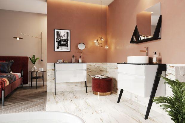 Sięgnij po inspiracje ze złotej epoki designu. Wystarczy kilka pomysłowych rozwiązań, by twoja łazienka stała się miejscem przyjemnego odprężenia i odrobiny szaleństwa. Może to czas, by sobie na to pozwolić?