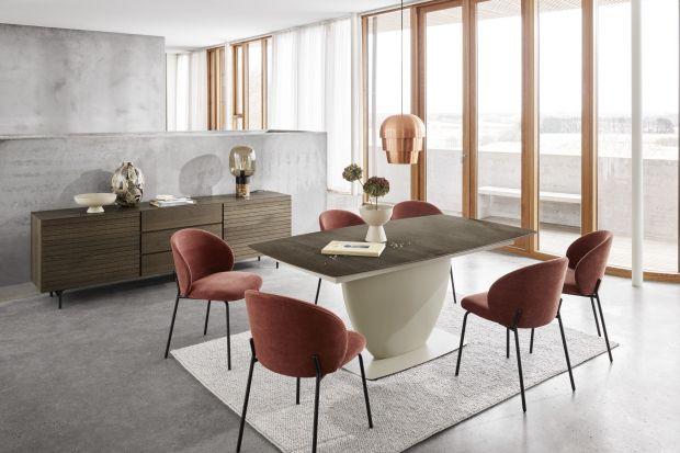 Stół zaprojektowany, aby cieszyć i zachwycać z pewnością przypadnie do gustu wielu miłośnikom designu – w szczególności tym, którzy kochają imprezy, a ich życie kręci się wokół kulinarnych emocji.