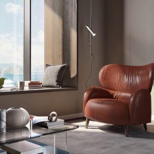 Fotel uszak Blosso,  marka Interno Italiano. Fot. Galeria Wnętrz DOMAR/Interno Italiano