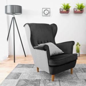 Fotel uszak Vako od marki Halomeble. Fot. Galeria Wnętrz DOMAR/Halomeble