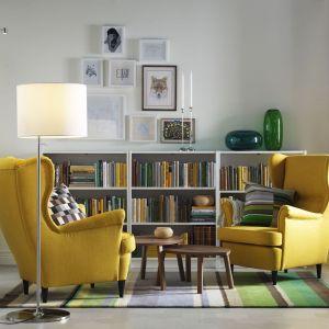 Fotel-uszak Strandmon firmy IKEA. Fot. IKEA