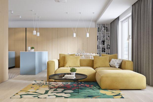 Mieszkanie o powierzchni 55 metrów kwadratowych znajduje się w Krakowie. Jest wygodne i pięknie urządzone. Wnętrze zapewnia kolorową, jasną przestrzeń dla pełnych energii mieszkańców.<br /><br /><br />