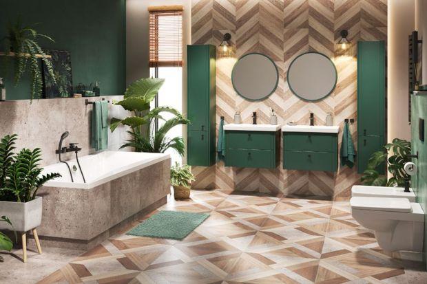 Jaki kolor wybrać do łazienki? Idealnym rozwiązaniem będzie modny granat i butelkowa zieleń. Dzięki nim łazienka będzie nie tylko piękna, alezachwyci też nietuzinkowym charakterem.