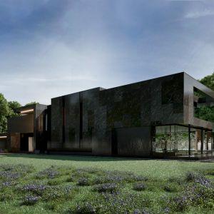 Re: Nero House to dom o powierzchni 800 m². Projekt: Marcin Tomaszewski, REFORM Architekt
