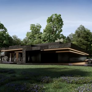 """Budynek jest """"rozrzeźbiony"""", ale kompletnie tego nie czuć. Projekt: Marcin Tomaszewski, REFORM Architekt"""