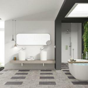 Dekory z linii wineo 500, inspirowane naturalnym, bielonym i postarzanym dębem, doskonale wpisujące się w klimat kuchni łazienek w klimacie skandynawskim bądź rustykalnym. Fot. wineo