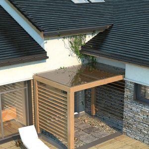 Dobierając system rynnowy, powinniśmy pamiętać przede wszystkim, że wielkość średnicy rynny musi być proporcjonalna do powierzchni dachu i kąta nachylenia jego połaci. Fot. Galeco