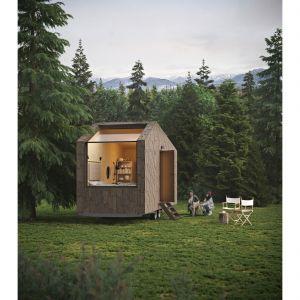 Mobilne domki pozwalają się cieszyć nowoczesną stylistyką i hotelowym komfortem, dając jednocześnie możliwość obcowania z przyrodą.