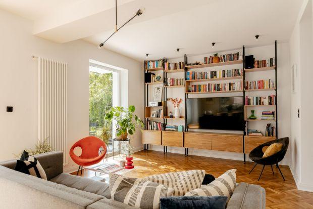Tak wygląda przedwojenny dom po metamorfozie. Piękne wnętrza dla rodziny z trójką dzieci
