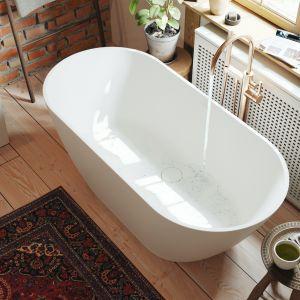 Łazienka w stylu boho to miejsce, które ma sprzyjać codziennym rytuałom, relaksowi rodem ze SPA. Fot. Fjordd