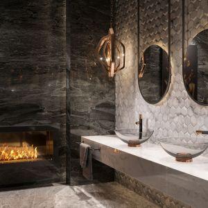 Gwiazdorski glamour w łazience. Baterie z kolekcji Ardesia. Fot. Fdesign