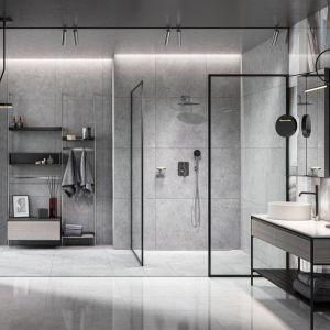 Nowoczesna harmonia w łazience. Baterie z kolekcji Meandro. Fot. Fdesign