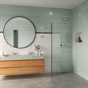 Odświeżone retro w łazience. Kolekcja baterii Lacrima. Fot. Fdesign