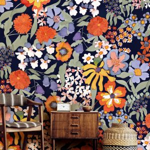 Tapeta z kolekcji Bloomed. Fot. WallPepper