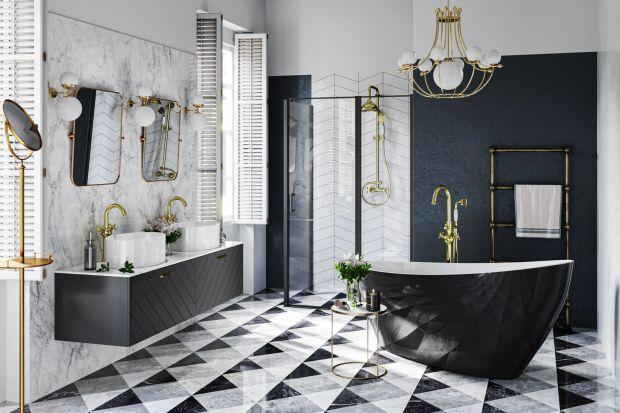 Czarne lub złotebaterie umywalkowe, wannowe czy prysznicowej brylują w aranżacjach i jeszcze przez wiele sezonów będą utrzymywać się na topie dzięki swojej ponadczasowej barwie. Jak urządzić łazienkę z takimi bateriami? Zobaczcie świetne p