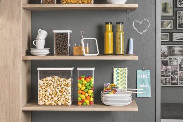 Pojemniki w kuchni. Świetny pomysł na przechowywanie!