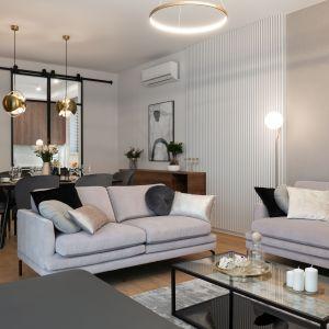 Квартира в Варшаве.  Современный элегантный интерьер.  Дизайн и фото: Дизайн и реализация интерьеров KODO