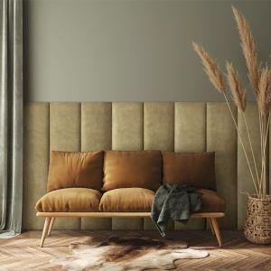 Panele tapicerowane z kolekcji Mollis. Dostępne w sieci Castorama. Fot. Castorama