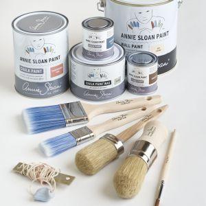 Zestaw farb i narzędzi malarskich Annie Sloan