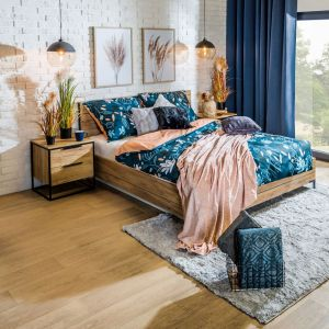 Przytulnie urządzona sypialnia. Fot. Salony Agata