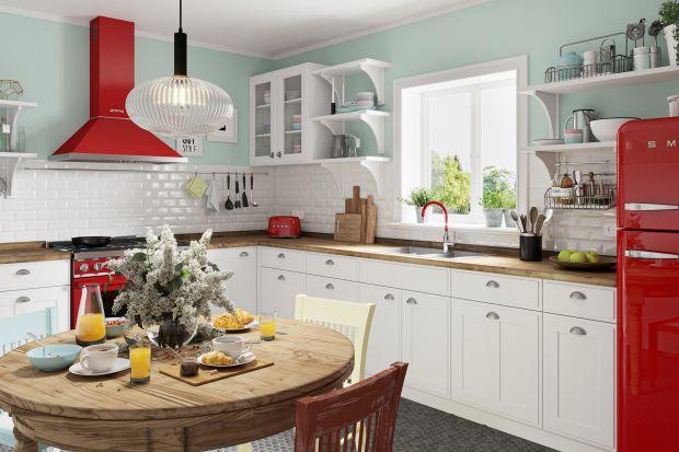 Co zrobić, aby kuchnia zawsze tętniła życiem, zachęcała do działania, optymistycznie nastrajała? Ożywić ją kolorem. Czerwień lub zieleń w kuchni to zawsze świetny pomysł.<br /><br />