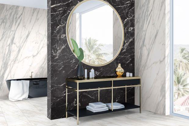 Wodoodporne płyty ścienne Rocko Tiles to świetny pomysł na błyskawiczny remont łazienki