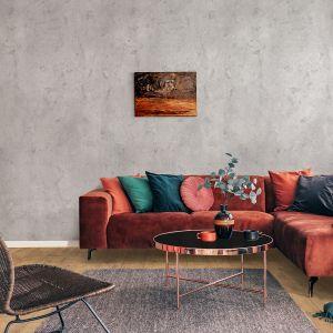 Wielkoformatowe płyty Rocko Tiles możesz montować na ścianie bez skuwania płytek. To najlepszy pomysł na szybki remont kuchni, łazienki czy salonu. Na zdjęciu dekory R109, R0190. Producent: Kronospan