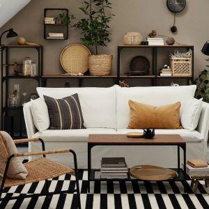 Sofa do małego salony z kolekcji Backsalen. Cena: 1.499 zł. Dostępna w IKEA. Fot. IKEA
