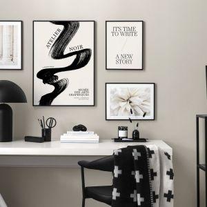 Trend Classic Contrasts łączy kształty i tekstury, aby uzyskać niepowtarzalnie elegancki wygląd. Fot. mat. prasowe Desenio