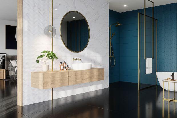 Jakie płytki ceramiczne są teraz na topie w łazience? Zobaczcie 15 modnych kolekcji, które idealnie sprawdzą się we współczesnym wnętrzu. Oto płytkowe trendy na 2021 i 2022 rok!