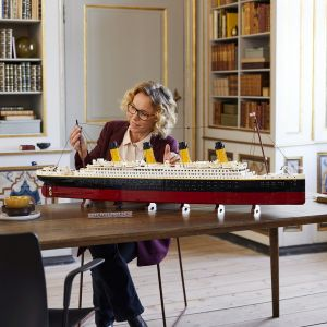 Fot. Lego Titanic
