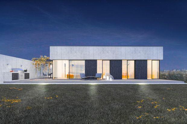 Light House to kompleksowy projekt domu z pracowni 3DProjekt Architektura, w którym wnętrze przenika się z zewnętrzem, tworząc integralną całość.