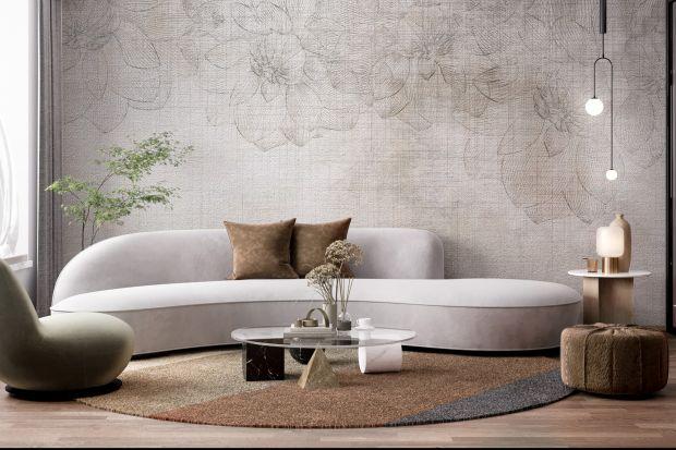 Modna ściana w salonie to żaden problem. Szybką metamorfozę pomogą przeprowadzić tapety. Trendowy wzory pomogą stworzyć efekt wow!